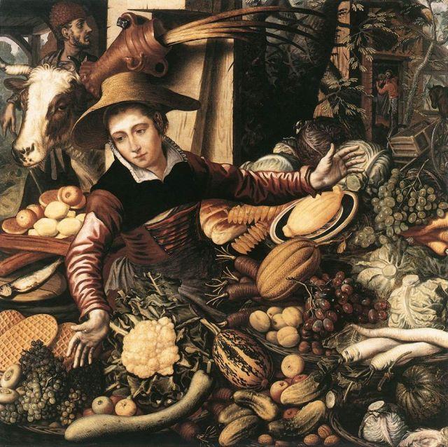 Donna al mercato - Pieter Aertsen (1567)