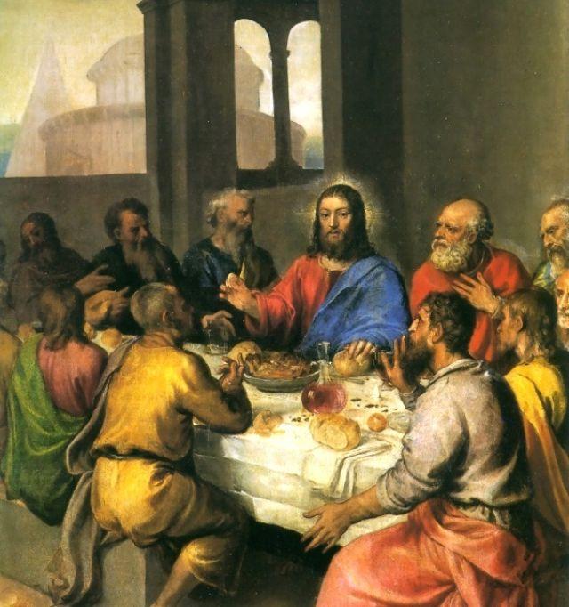 Ultima Cena - Tiziano (1542-44)
