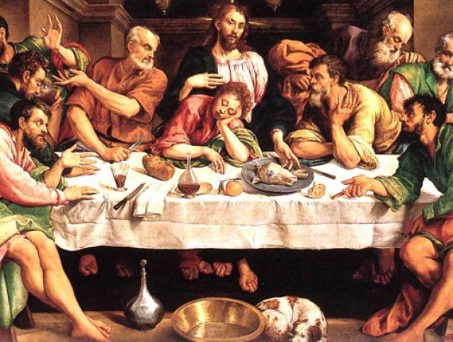 Ultima Cena - Jacopo Bassano (1546/48)