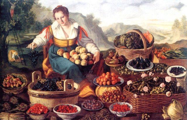 Fruttivendola - Vincenzo Campi (1580 ca.)