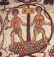Vino sulla mensa romana