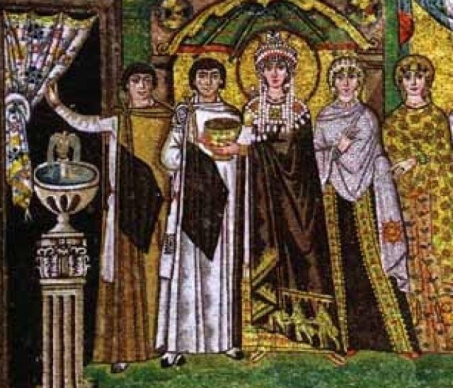 Teodora e la corte