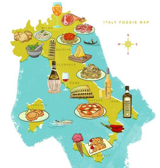 Origini della cucina regionale italiana - Cucina regionale italiana ...