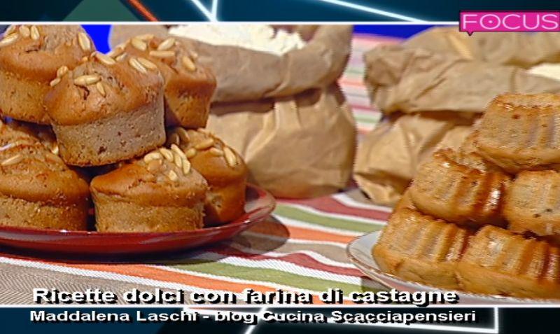 Video ricetta dolci con farina di castagne for Dolce di castagne
