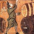Vino e acqua medievale