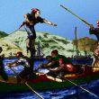 Pesca del pesce spada nello stretto di Messina