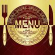 La carta del menu