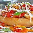 Storia panino pecorino e pomodori secchi