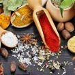 Spezie e erbe aromatiche gusto e analisi sensoriale