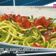 Video ricetta spaghetti vegetariani