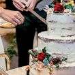 Torta nuziale simbolo d'unione