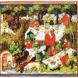 Storia del picnic mangiare all'aria aperta