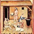 Storia formaggi medievali di monaci e laici