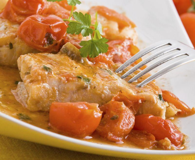 ricetta filetti di merluzzo alla mediterranea - Cucinare Filetto Di Merluzzo